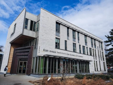Markim hall, home to the Kofi Annan Institute for Global Citizenship. Photo by Celia Johnson