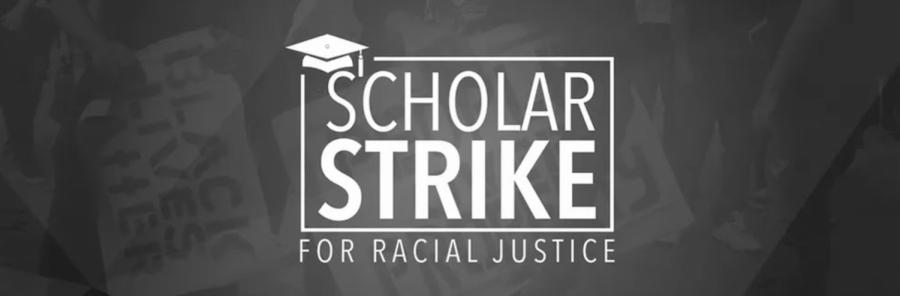 Logo+of+the+Scholar+Strike+event.+