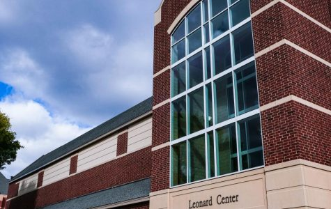 The Leonard Center. Photo by Malcolm Cooke '21.