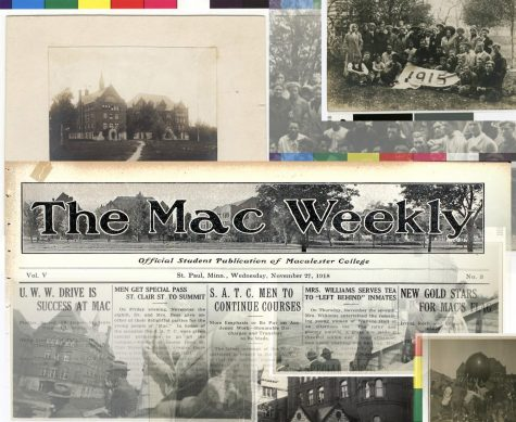 Spanish Flu in The Mac Weekly, Photo by Julia Bintz