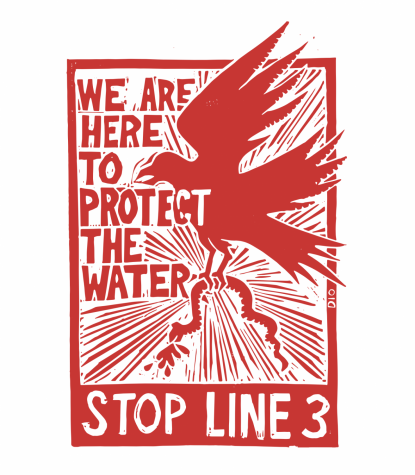 Macalester students contribute to #StopLine3 resistance through online art