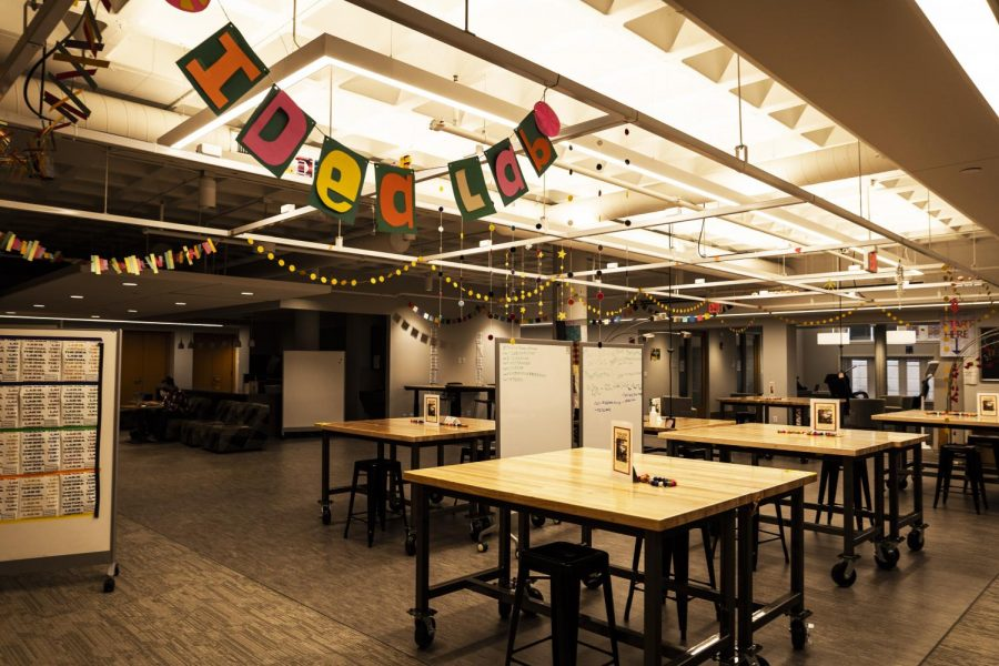 The Idea Lab. Photo by Celia Johnson '22.