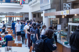 Café Mac experiences food shortages